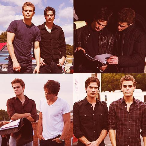Love thease two#thevampirediaries #stefan #damon #love #amazing #cute