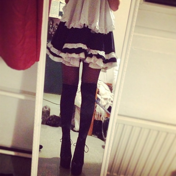 Omg so in love with lai's #jeffreycampbell #litas <3 190cm tall /D