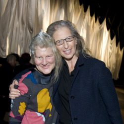 parkavenuearmory:  Go figure… Ann Hamilton and Annie Liebovitz are old chums. Annie photographed Ann for a feature on her work that appeared in Vogue in March 1994. The portraits are telling and beautiful, and the story (by writer/curator Neville Wakefield) is worth a read too. See for yourself here.  We HIGHLY recommend that you all click-through and check out those photos in Vogue— they're beautiful! Fun fact: back in 2007, Ann Hamilton installed Indigo Blue, another hugely provocative work, here at SFMOMA. You can see a fascinating time-lapse video of the installation here.