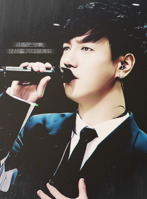 jongwoon for my lovely waifu, sammariebeu