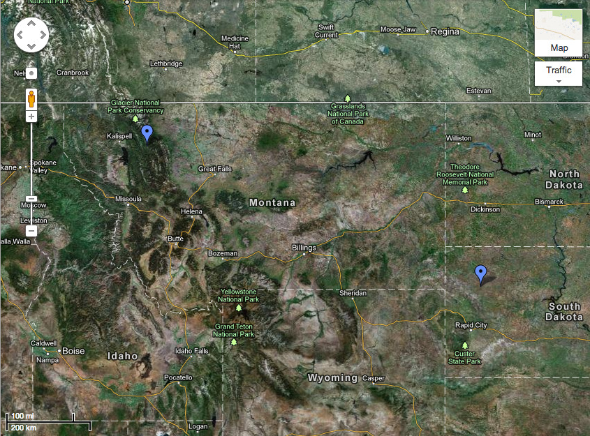 South Dakota and Survivors' City Map: http://goo.gl/maps/9movJ My family began as fourteen children, abandoned and left for dead in the frozen hell that was now South Dakota. They had retreated to the northern Rockies in Montana, and by some miracle, they had survived. They had lived together under a God they knew existed—who else could have saved them?—and taught each new generation dedication to God, to family, and to the land. But ours was not a family held together only by bloodlines. We cared about where we came from and where we were headed. We were dedicated to each other, to our purpose. In the human world, I had heard of only one culture that had a virtue approximating this: It was part of ancient Confucian ideals, set in ancient China as far back as the fifth century bc. They were the only ones who valued the notion enough to name it. They called it filial piety. These ideals were rooted in the same sentiments on which our family philosophy was based.  Our undying bond to one another may have begun because we were a species all our own, because we needed each other in a world where we were different, or because our still-living ancestors believed so heavily in the Puritan doctrine they had been born into. Whatever it was, it was effective. No one ever strayed from the family. At least, no one but me.  My leaving meant that going back to warn them might be useless. I had left without even a goodbye, adding insult to injury. In their eyes, I had stomped all over our values. I couldn't imagine they would welcome me back. I wondered if, initially, they thought it was a temporary exile. Did they wait for me to come back? How many sunrises and sunsets passed when they thought, Any day now…?  I knew they would paint me forever as someone who threatened all our family was based on, as a causeless rebel and a disloyal child. I hated that this was my legacy. I guess that by now my family had translated my actions into a cautionary tale for all of the youth, telling them stories of how God had smited me when I left, and possibly insinuating I hadn't made it past the pastures around the city walls. They'd tell them how I was a slave of Satan now, condemned to an eternity of servitude and torture. And some of them might believe that. This made it difficult to drive toward Montana, but I still had the ache in my bones. Something inside of me belonged to that place, and I had to go back to make sure my family would be protected from threats outside their walls. I knew there could be threats. If there were more Mark Winters out there, if he had come from a family like mine, and if they had any of the human urges to conquer or reign, then we were in trouble. And Mark's threat had been clear. He knew who we were, likely even where we were. And I couldn't set my family up to be massacred by a war-hungry version of ourselves out there. I had to protect them. In a strange way, because I had left, I was the only one who could. I wasn't sure what to expect, but I was certain it wouldn't be pleasant. If they had told all the young ones I had been destroyed, they would be frustrated that I proved them wrong by bursting through the city gates. Not wanting to pour salt in the wound, I planned to arrive as quietly as possible. It didn't matter, though. I assumed that Hannah, our original elder, either had already seen me coming, or she would soon enough. And as soon as the first one of them spotted me, all 164 would swarm the center of our village at supernatural speed to see what the cat had dragged in. I squirmed as I thought about the attention. I intended to stop at a small bed and breakfast about a ten or fifteen mile run as the crow flies from the city walls so I could stow my car and luggage and prepare. I had dressed comfortably for the trip, so I would change into more appropriate clothes to meet my family again. There were rules and expectations, and I would be respectful of them, within reason. My sleeves would touch my hands (they always did), and my legs would be covered. My chest and back would be covered up to my neck. I would not wear makeup. But I wasn't going to wear a dress, nor pull my hair back and tuck it into a bun or a braid. I'd be covered, but I had every intention of walking into the village in a modest top and jeans, hair free flowing as I always wore it. They were going to hear me out and take me as I was or not at all. I had no plans to return to the life they had made for us, and I refused to give anyone a moment's doubt about that by dressing the part. I had already broken all the rules anyway.