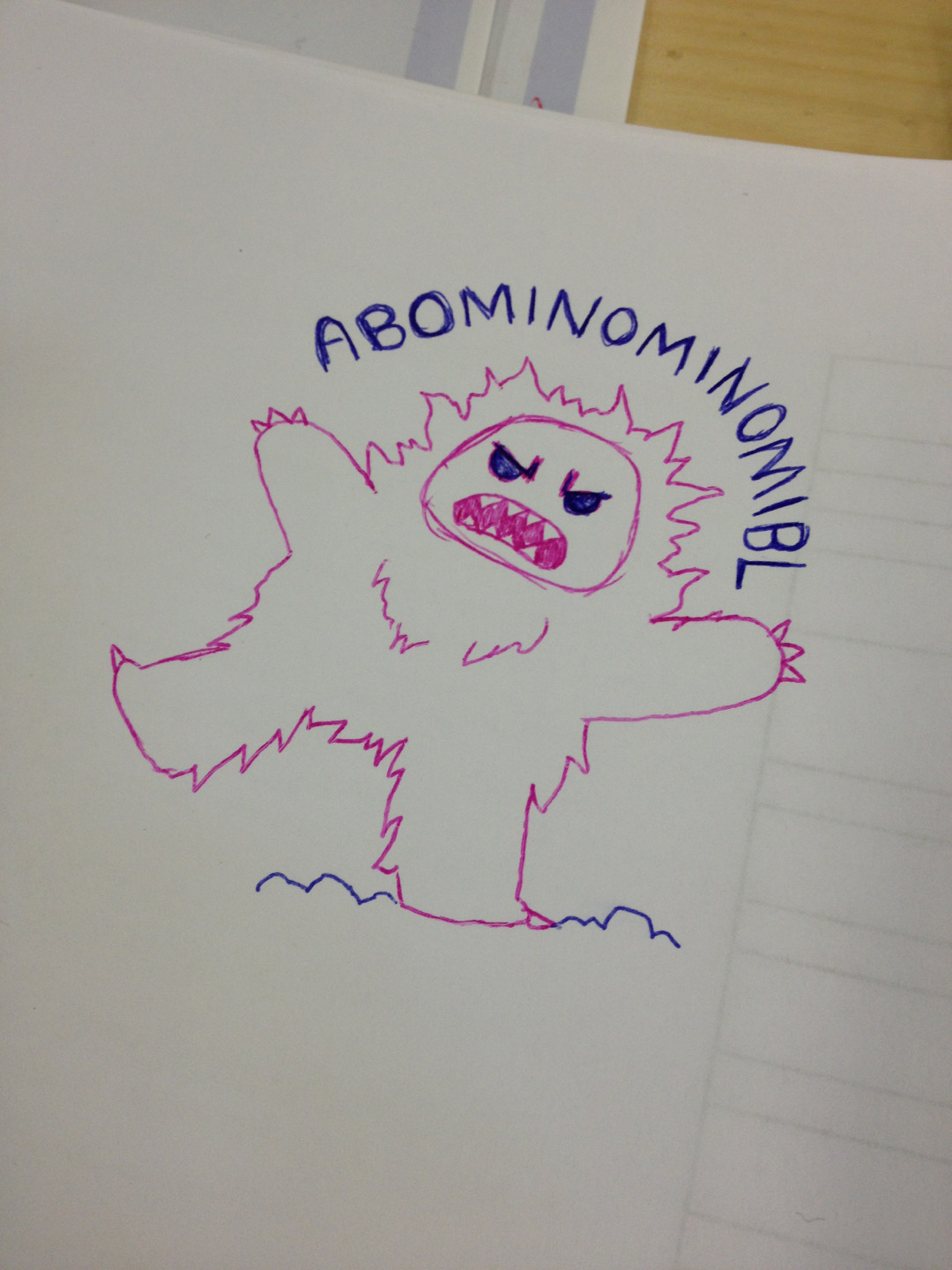 Doodles in meetings