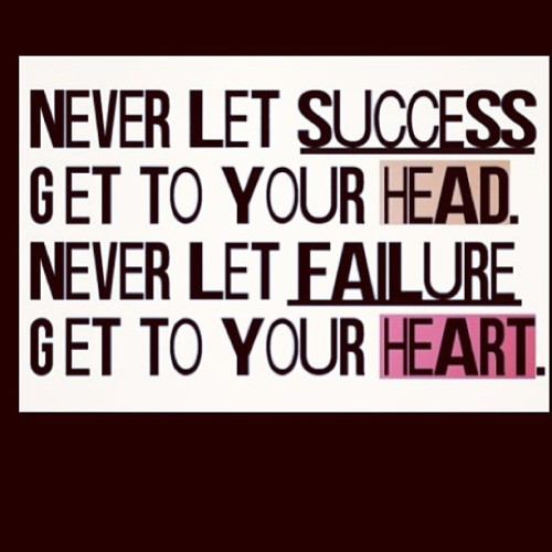 Love this one from @_destinyforever  #success #failure