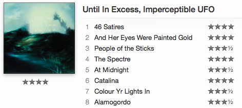 *Recommended*  The Besnard Lakes - Until In Excess, Imperceptible UFO ( itunes / spotify )