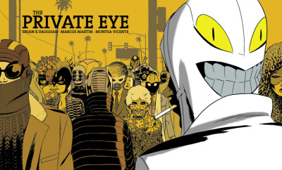 bossbattle:  The Private Eye is a serialized sci-fi detective comic set in a future where privacy is considered a sacred right and everyone has a secret identity. It's written by Brian K Vaughan (Ex Machina, Y: The Last man, Saga) and illustrated by Marcos Martin (Amazing Spider-man, Daredevil, Robin: Year One). This is the same creative team behind the insanely good Dr. Strange: The Oath. The unique thing about The Private Eye is that it's being directly offered by BKV and Martin through Panel Syndicate as a download with a pay-what-you-want price tag a la Bandcamp and VHX. We've long been proponents of this sort of donation-based content delivery and really hope this can open the door for more creators to get their work in the hands of readers. The Private Eye is available in three languages and formats (including PDF for those of you without a good comic reader app). Head on over and check it out, and throw some cash their way.