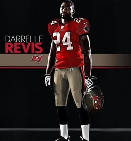 2minutedrill:  Looks like Darrelle Revis already got #24 from Mark Barron.