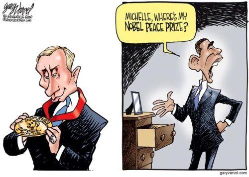 <p>Мишель, где моя Нобелевская медаль</p>