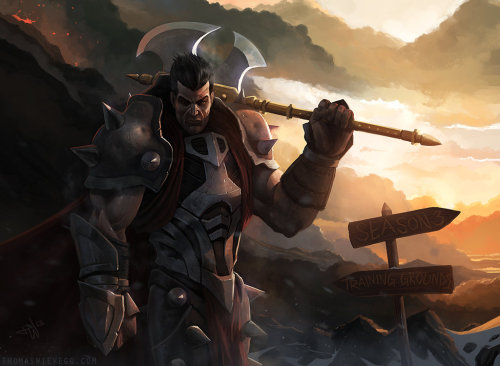 Darius - League of Legends by *thomaswievegg