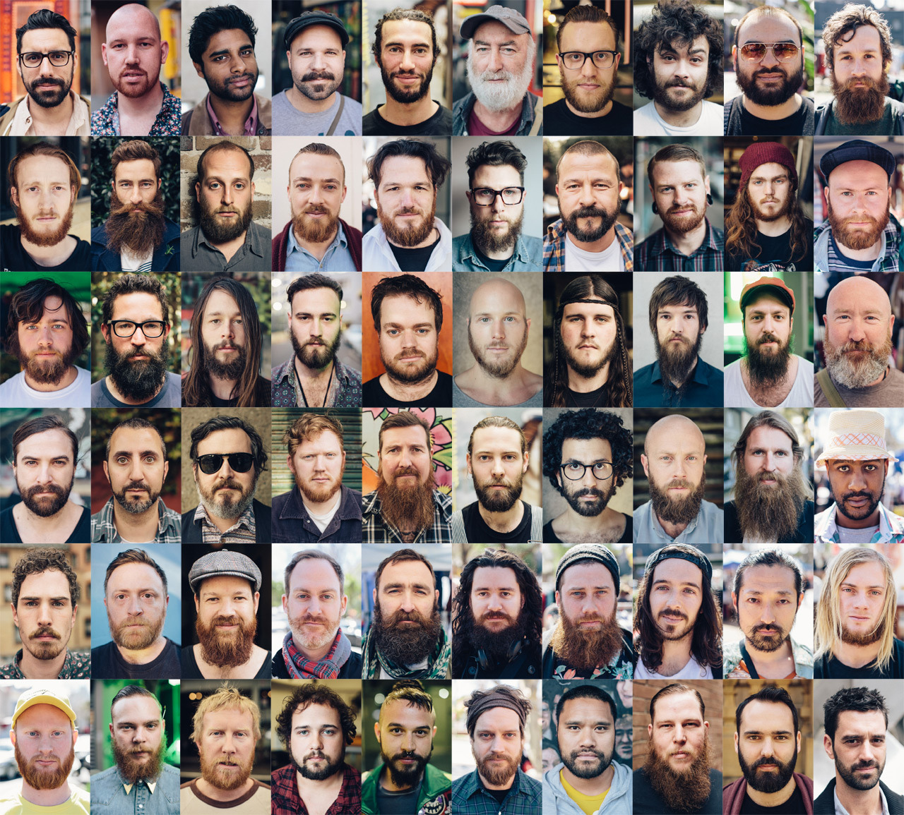 Beards of Sydney.   This was a really fun project - roaming the streets of Sydney spotting bearded men and asking for a photo.  Very few declined, most were proud of their beards and keen to share with the world.  All were shot with my trusty Canon 50mm 1.2.  My direction to the subjects was simply that i wanted a neutral expression. NO SMILING.