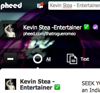FB burnout? Wanna See Twitter on STEROIDS? Subscribe to me on Pheed! http://www.pheed.com/thatrogueromeo  It's pretty phun :) #Pheed #Phresh #KevinStesa #Pheerce #Phashion #Fashion #Photography