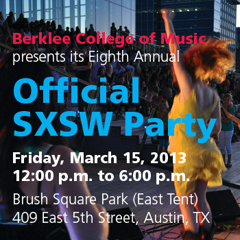 Berklee SXSW 2013 Sampler Download the  mix here
