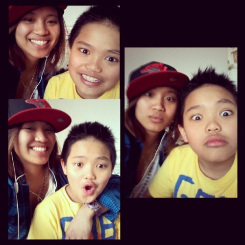 Photo fun with my little brother. Looove him! ;)