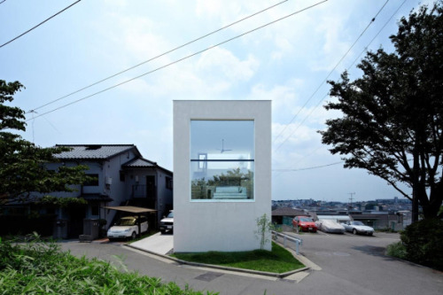 Residential Architecture: House in Hiyoshi by EANA..(via * Residential Architecture: House in Hiyoshi by EANA)