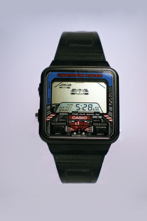 fzta:  Casio 'Champion Racer' Digital Watch Edit By fzta.