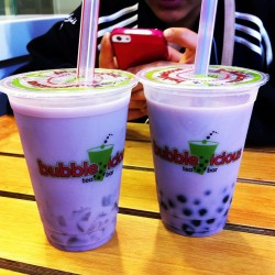 Finally found a legit Bubble Tea place! @laurellegarcia  (at Bubbleicious Tea Bar)
