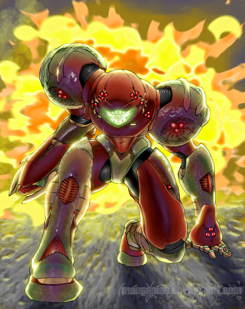 weasclasicas:  Omega Metroid suit by ~Manganiac