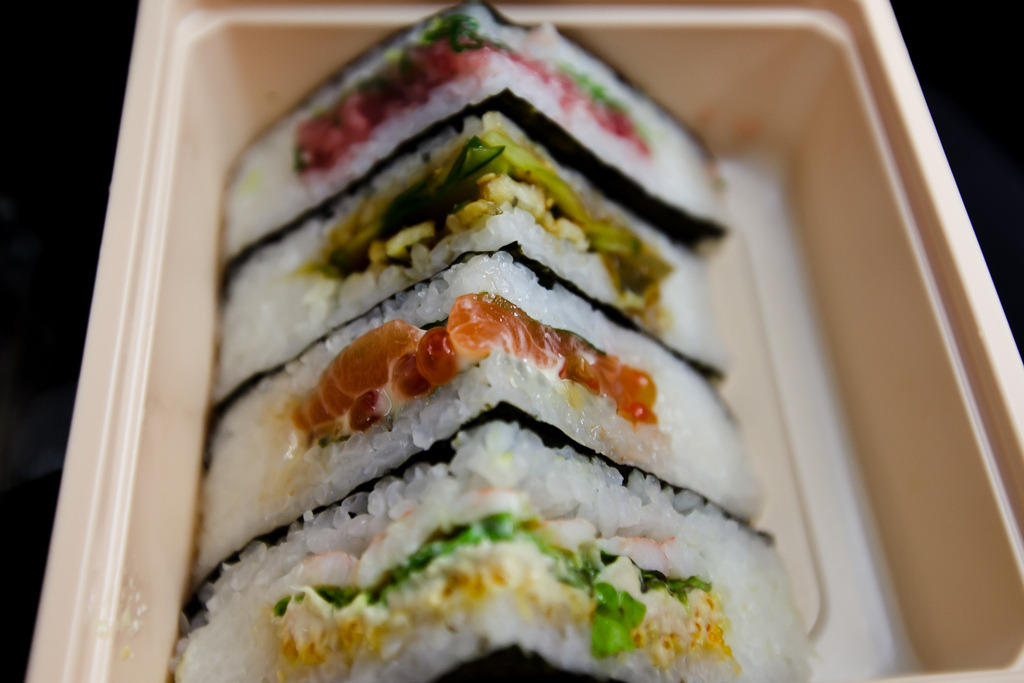 gastronomyfiles:  sushi sandwich (by greentealover79)
