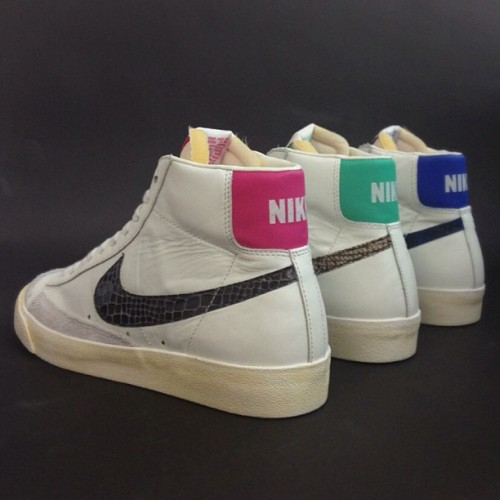 Nike Blazer Mid '77 'Snake' are dropping now, with two colours available now. #size #nike #blazer #mid #snake #sizehq