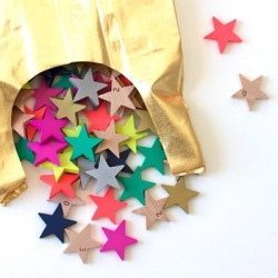 Playtime ~ Colorfull wooden stars by Tanabata