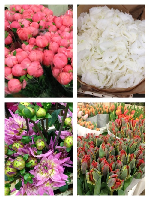urbanexplorerkids:  Covent Garden Flower Market A few of the lovely things we spotted while visiting the market. In addition to stunning flowers and plants, there is every imaginable vase, container or planter one could possibly need. Also, crafting supplies, tissue paper, cello wraps and a rainbow of ribbons - a terrific one stop shop for stocking up in bulk.
