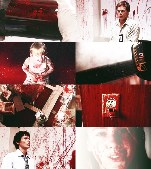 DEXTER CHALLENGE: [1/6] episodes  Seeing Red