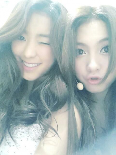 exosgirl:  Bora and jiyoung