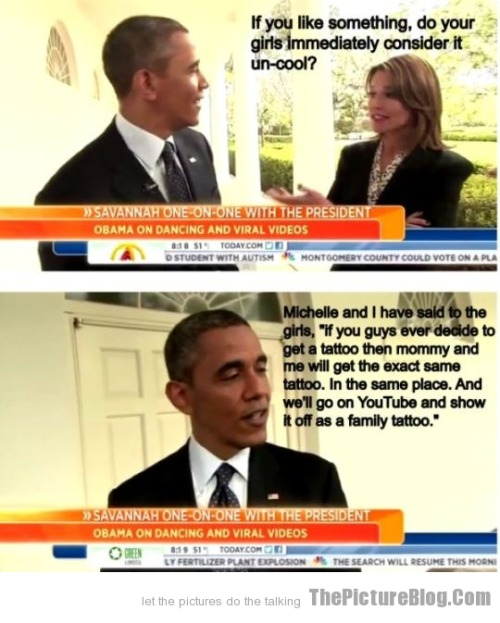 President Obama as Parent filed under funny pictures