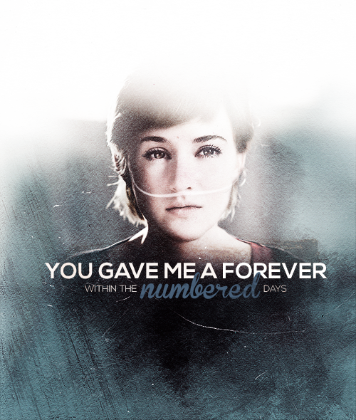 And I'm grateful. (Shailene Woodley as Hazel Grace)