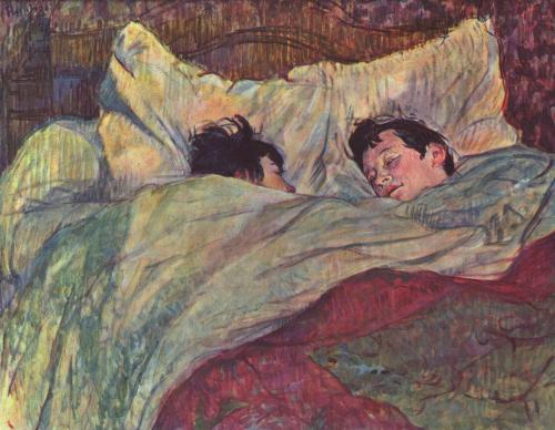 showmethe-monet:  Henri de Toulouse-Lautrec In Bed 1893