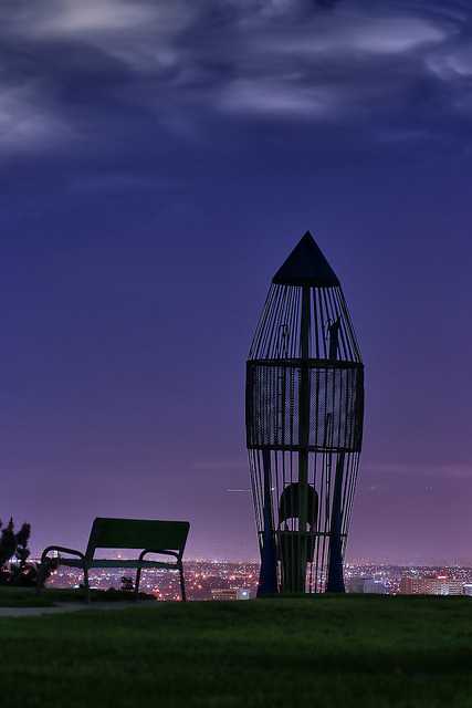 mooonchylde:  proudemary:  Rocketship park by Lori_Bucci_Photography on Flickr.  My Hometown. Where my heart will always be