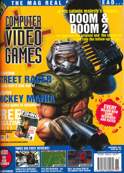 CVG magazine Doom cover.
