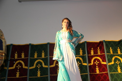 Algerian & Tunisian beauty, in morrocan dress by Naima Aoujil , Girl by me @ festival des nuits d'orient, Ines my little Lala Salma