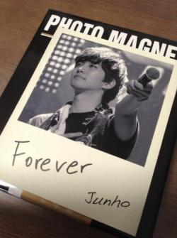 "fyjunho:  From a special ""Legend of 2PM"" Arena Tour photo magnet set"