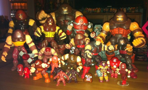 The Juggernaut is slowly taking over my coffee table.
