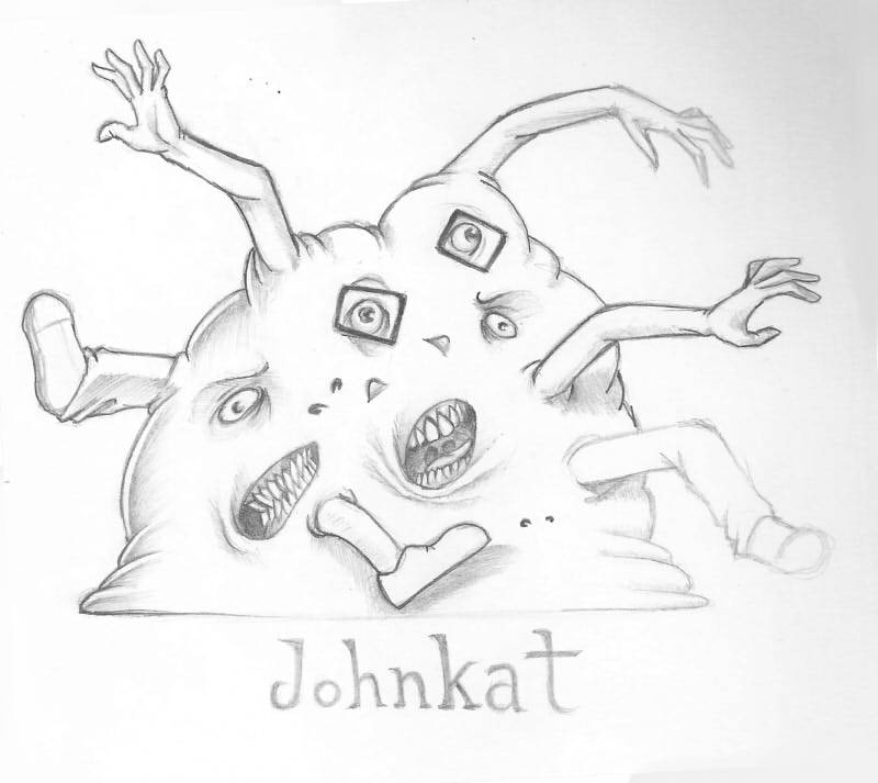 fernysattic:  Yes, my first tumblr post thingamagog.And it's Johnkat. You can begin crying blood tears now.     FUCK