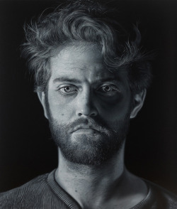 Painter Charles Bierk (oil on canvas) | Posted by devidsketchbook.com