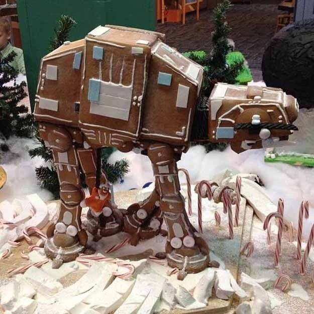 Nerds make the best gingerbread.