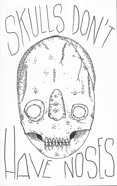skulls dont have noses by • trevor▲nicholls • on Flickr.
