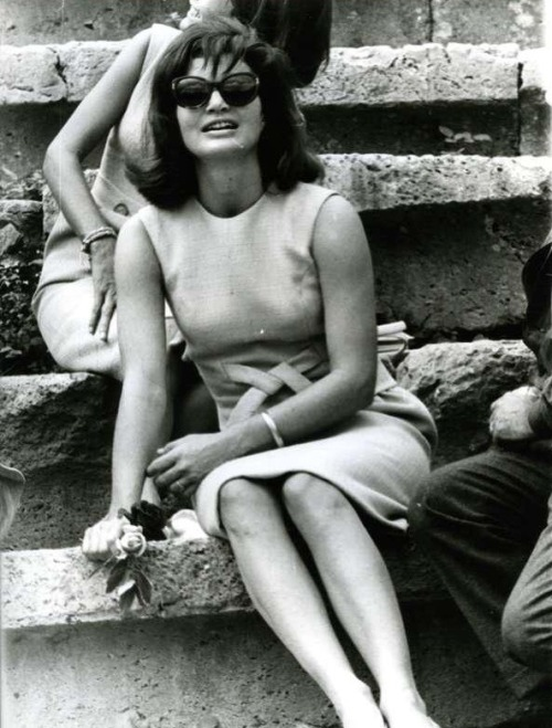 sillyjedi:  Jacqueline Kennedy vacationing in Greece, 1963