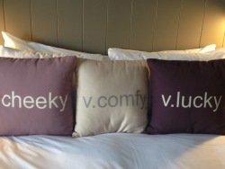 De Vere Village upperdeck room pillows ;)