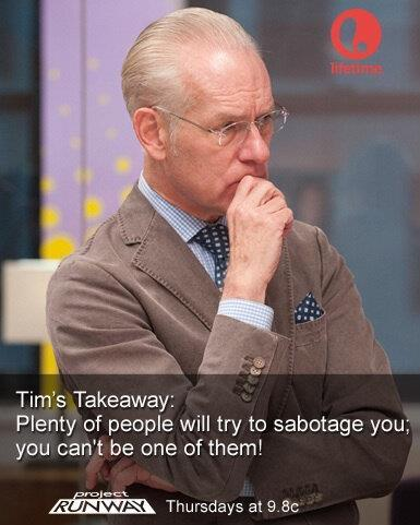 "nijireiki:  fuckyeahmakeitwork:  thank you tim gunn:  official [facebook] page o3o  I just want like a pocket Tim Gunn keychain, like how they have those Mr. T ones, where each button is a quotable line of his. I love this one, obviously, but I would settle for a button of ""What happened to Andre?"" COME AT ME, MARKETERS, MAKE THIS HAPPEN. MAKE IT WORK."