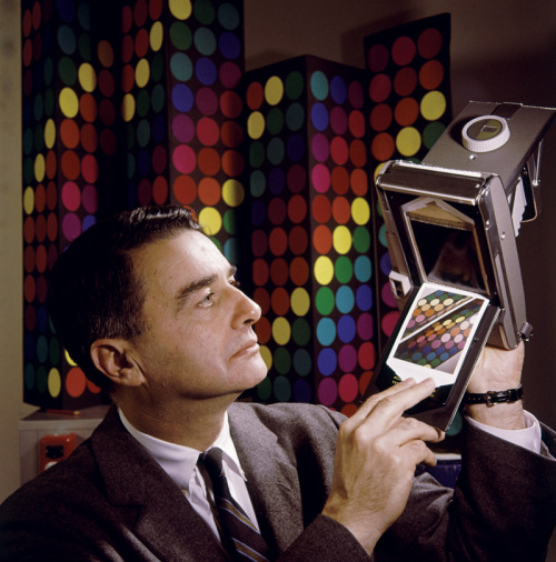 "papress:  Happy Birthday to Dr. Edwin Land, inventor of Polaroid and man of many other talents, born on this day in 1909. You know he was Steve Jobs v1.0, right? In the age of Instagram, ""Pictures in a minute!"" makes you think you've got a bad internet connection. But in the 1950s, that slogan fueled a technological revolution that continues to develop today. Read more about the influence Land had—and still has—in Instant, available here from PAPress."