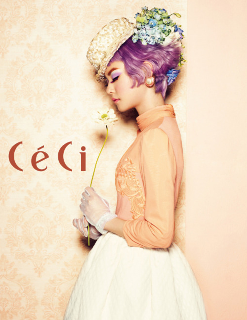 Ceci Korea Model: Woori  March 2013
