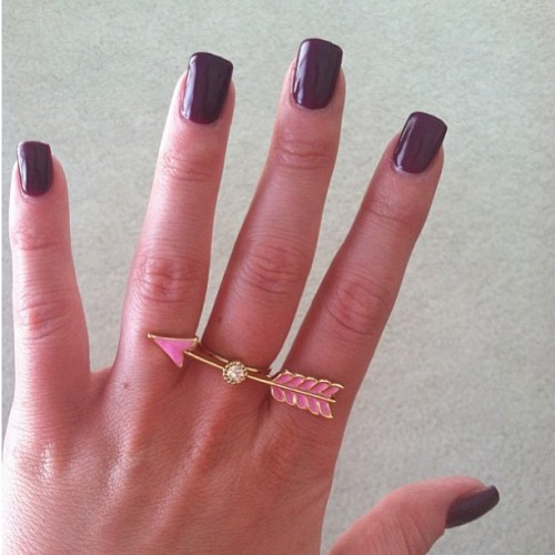 We love this fan photo of our Cupid Ring from @bexinawarrior! So cute! #dailylook #regram
