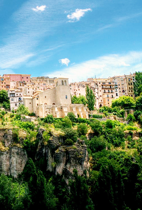 bellecs:  Hanging Houses of Cuenca, Spain