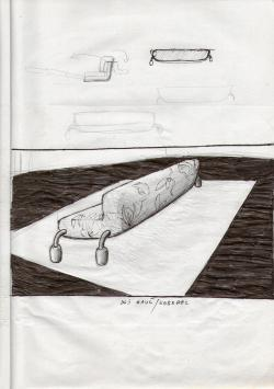 Sketchbook #44 couch
