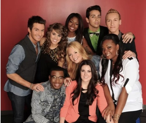 We're down to the American Idol Top 8! Click the pic to see who's left and who went home!