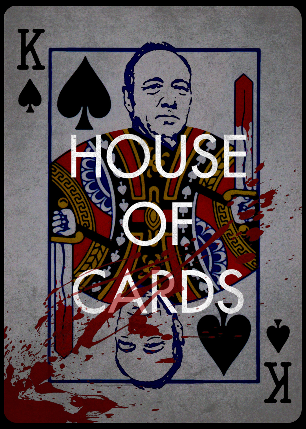 House Of Cards Poster [OC] ...