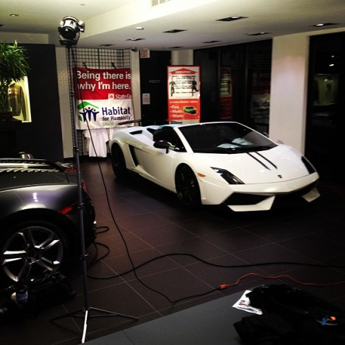 Tune into WFMY NEWS 2 throughout the day to see the Performante featured Live! (at Lamborghini Carolinas)