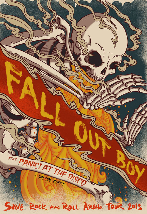 REBLOG if you're stoked to see Fall Out Boy in Tampa on Sunday, September 29th at the USF Sun Dome!! UPDATE: PANIC! AT THE DISCO has been added to this tour!!! Get Tickets <—- :)
